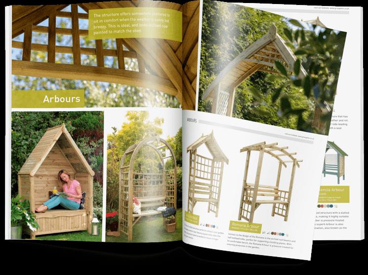 Full product brochure catalogue & website