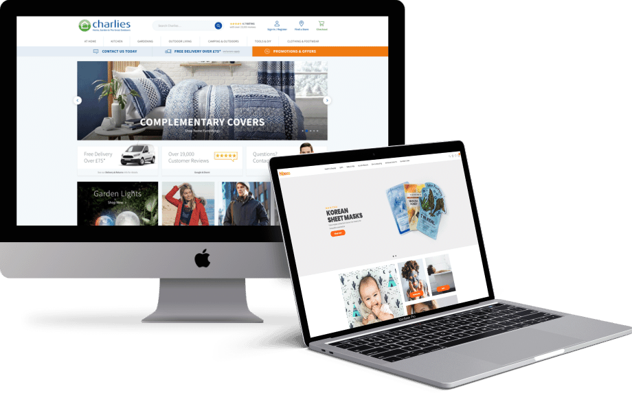 Get a Magento store, built to sell.