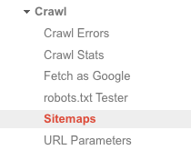 google-search-console-crawl-sitemaps