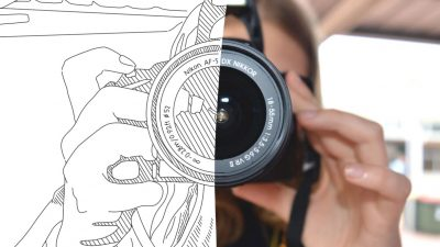 Illustration Vs. Photography in Web Design